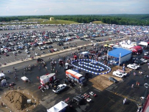 Kentucky Speedway Concourse Activities