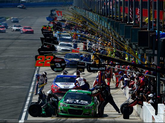 Auto Club Speedway Pit