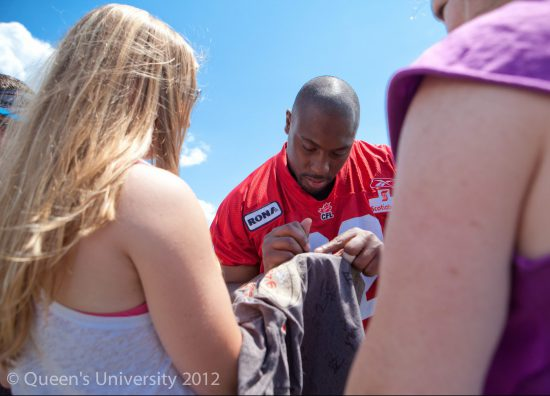 Calgary Stampeders Autograph Signing