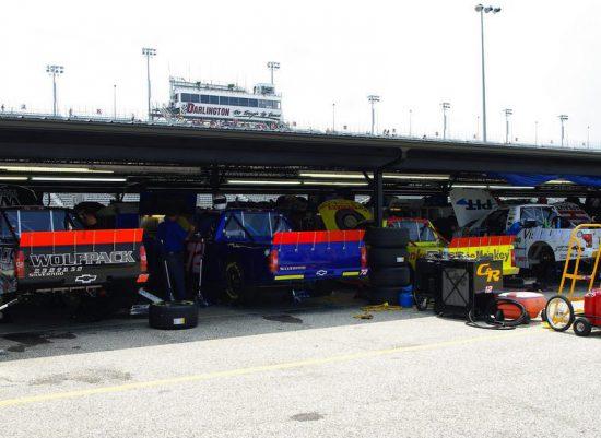 Darlington Raceway Garage