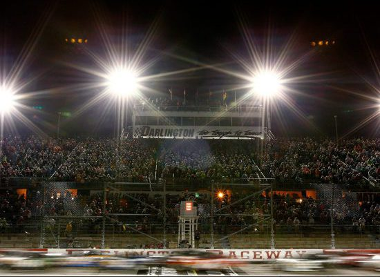 Darlington Raceway Lights