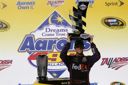 Denny Hamlin GEICO 500 Champion