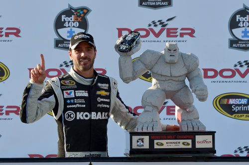 Jimmie Johnson AAA 400 Winner