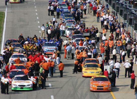 Kentucky Speedway Pit