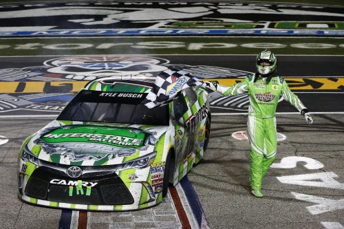Kyle Busch Duck Commander 500 winner