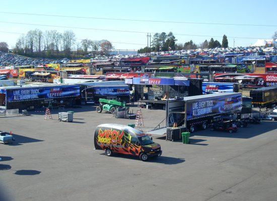 Martinsville Speedway Parking