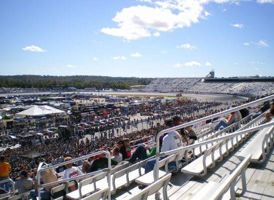 New Hampshire Motor Speedway Parking
