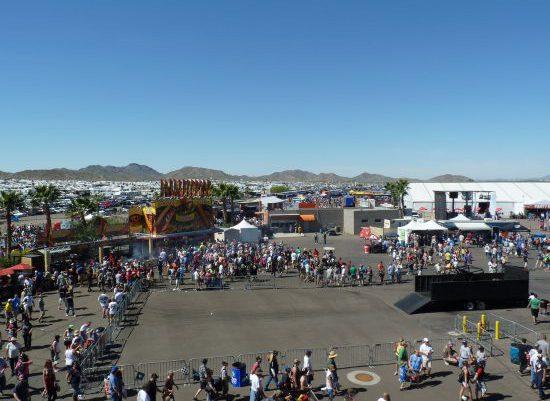 Phoenix Raceway Crowd
