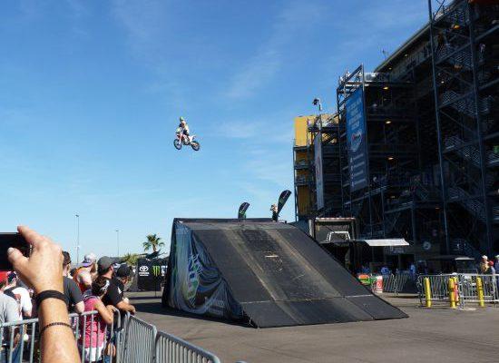 Phoenix International Raceway Motorcycle Jump
