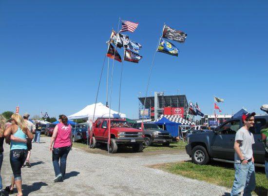 Richmond International Racecway Camping