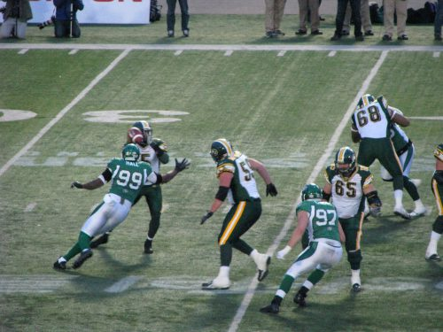 Roughriders vs Eskimos
