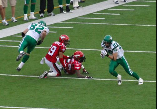 Roughriders vs Stampeders