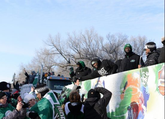 Saskatchewan Roughriders Parade