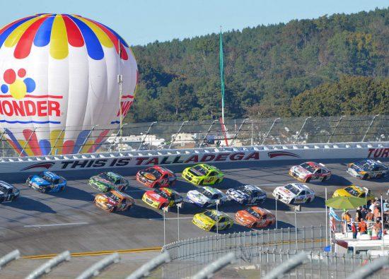 Talladega Superspeedway Balloon