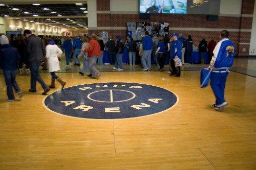 Rupp Arena Original Floor