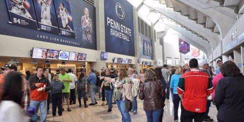 Penn State basketball murals
