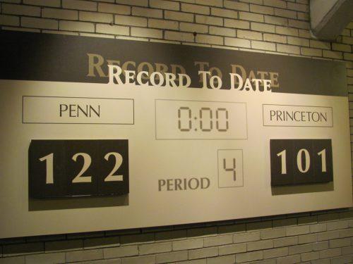 Penn Princeton Record