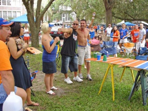 Florida Gators tailgate