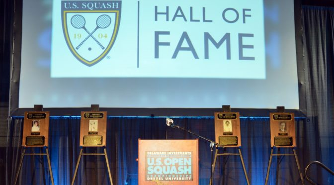 US Squash hall of fame