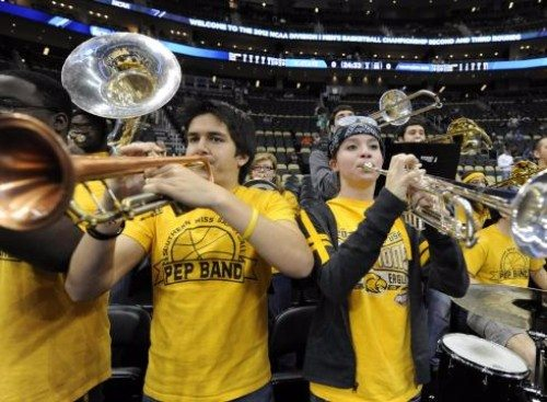 Southern miss basketball band