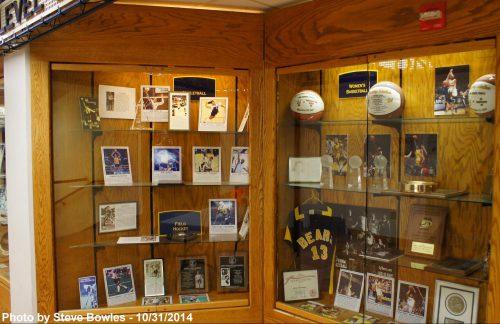Haas Pavilion Memorabilia
