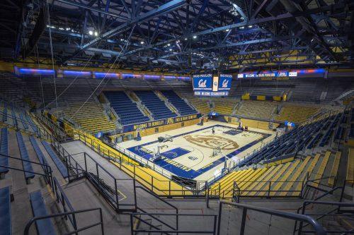 Haas Pavilion court