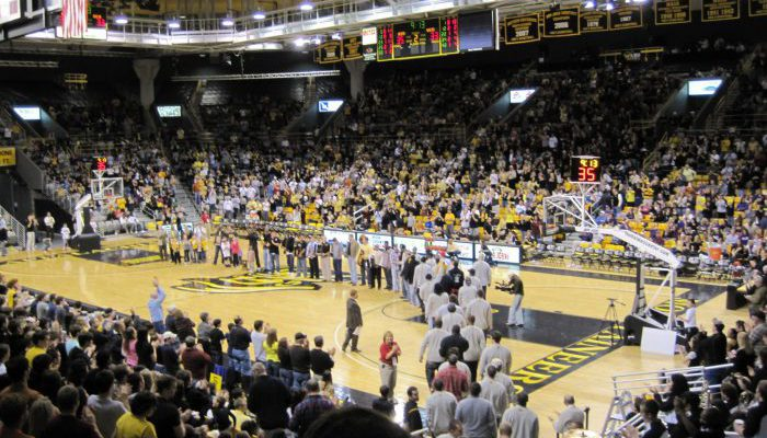 Holmes Center Appalachian State ASU Mountaineers Basketball