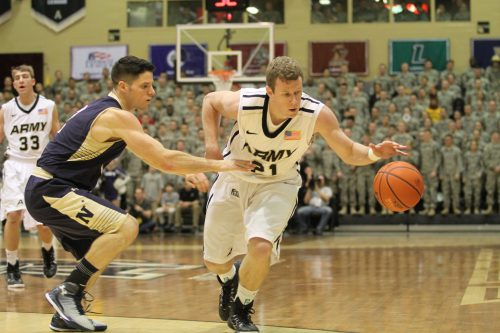 Army vs Navy basketball