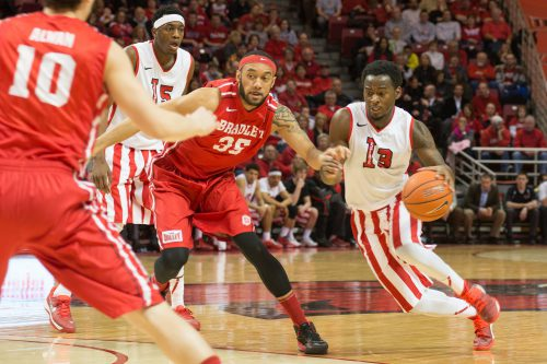 Bradley Braves Illinois State Redbirds basketball