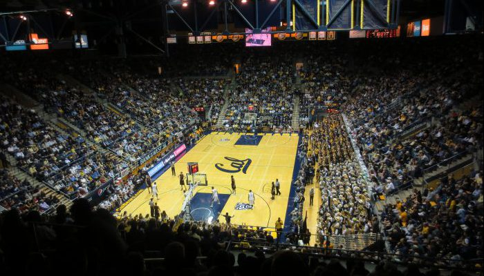 Haas Pavilion Cal Golden Bears