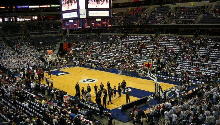 Georgetown Hoyas Basketball Capital One Arena