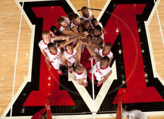 Miami RedHawks Basketball players