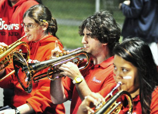 St Johns Red Storm pep band
