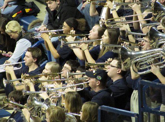 Toledo Rockets basketball band