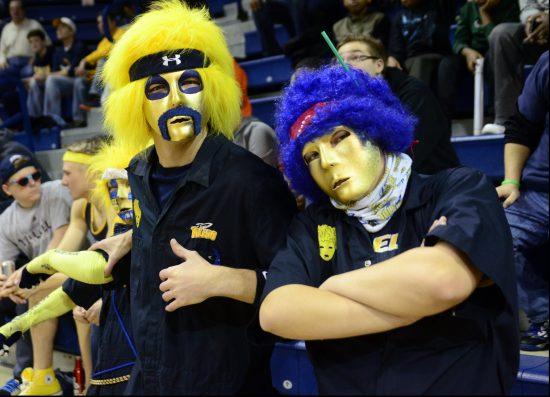 Toledo Rockets basketball fans