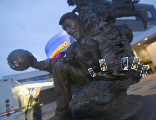 Wilt Chamberlain Statue