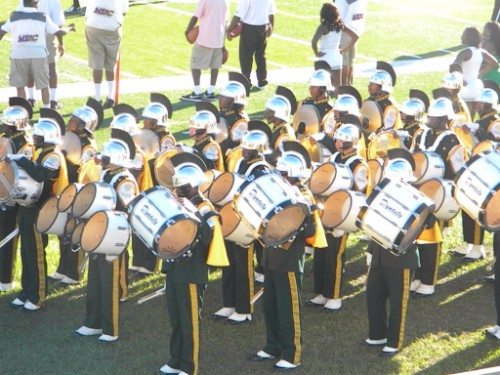 Norfolk State Spartans marching band