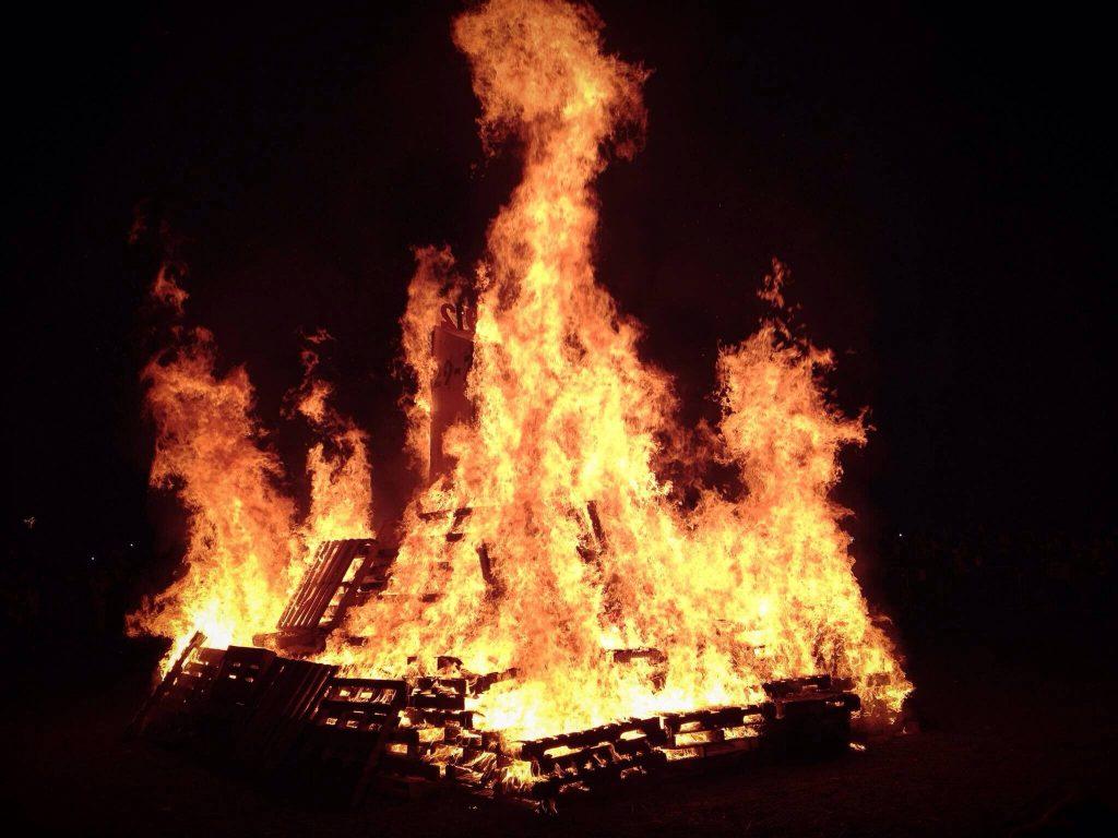Big 3 Bonfire