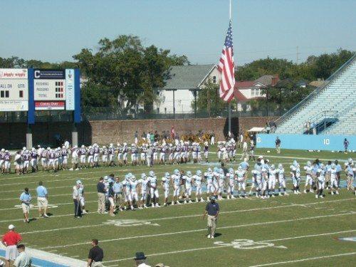 The Citadel Bulldogs Johnson Hagood Stadium cannon
