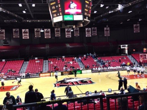 NIU Convocation Center basketball