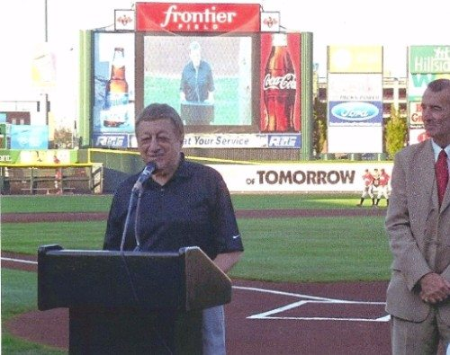 Rochester Red Wings Frontier Field Fred Costello