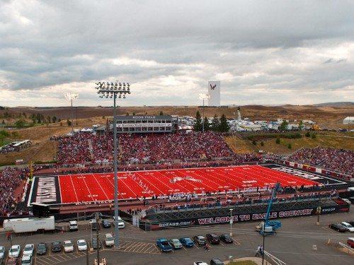 The Inferno EWU Eastern Washington Eagles Roos Field