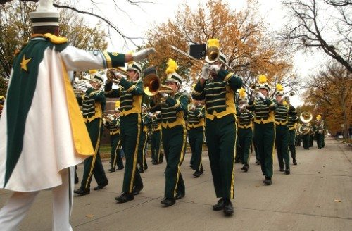 NDSU Bisons marching band