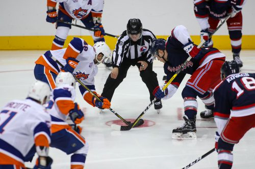 Battle of Connecticut Hartford Wolf Pack vs Bridgeport Sound Tigers