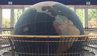 Mitchell Center Waterman Globe