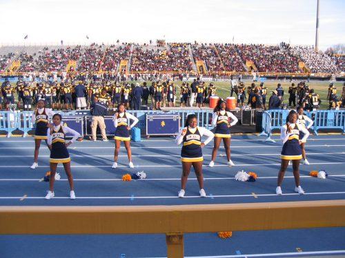 North Carolina AT State aggies Cheerleaders