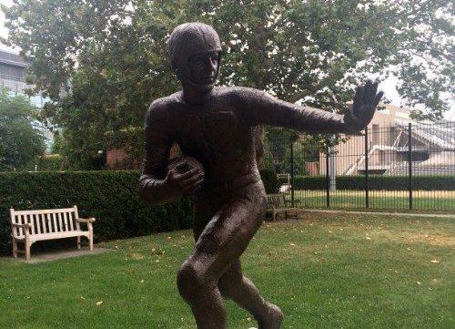 Dick Kazmaier Statue