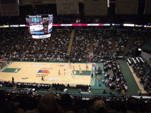 Siena Saints basketball Times Union Center
