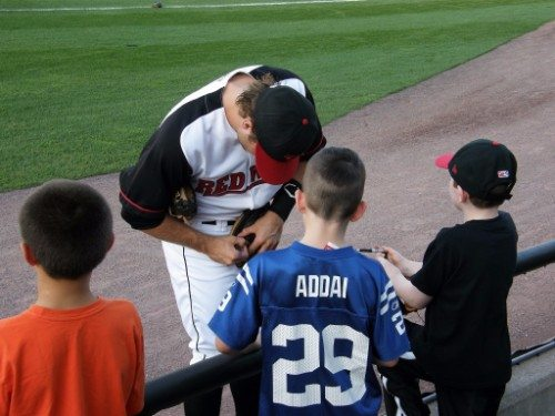 Rochester Red Wings autograph signing