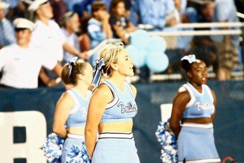 Citadel Bulldogs Cheerleaders